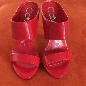 Calvin Klein Heels Sandals